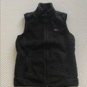 Patagonia Gray Fleece Vest